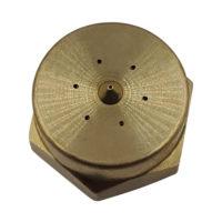 Unibody Wide Swirl Nozzle G100FUWSBRASS-OR