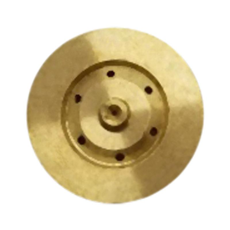 Nozzle G100FDSBRASS .014 .018 .035, 1 inch Disc standard Swirl Nozzle