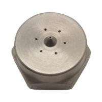Unibody wide swirl steel nozzle G100FUWSSTEEL, Nordson compatible