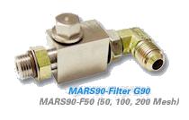 90 Degree Filter MARS-90 Compatible Nordson® Saturn Filter