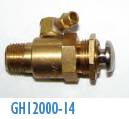 GH12000-14 Air Valve with Nipple Nordson AD-31