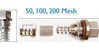 MARS Mesh Nordson Saturn Inline Filters 50 100 200 Mesh