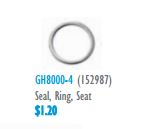GH8000-4 Seal Ring Seat 152987 AD-31