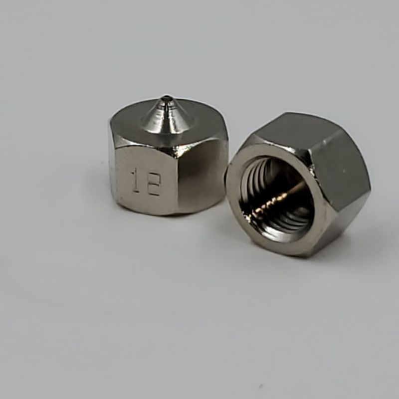 GNS Straight Angle Nozzles | Sizes .010 - .040 | Nordson® Compatible